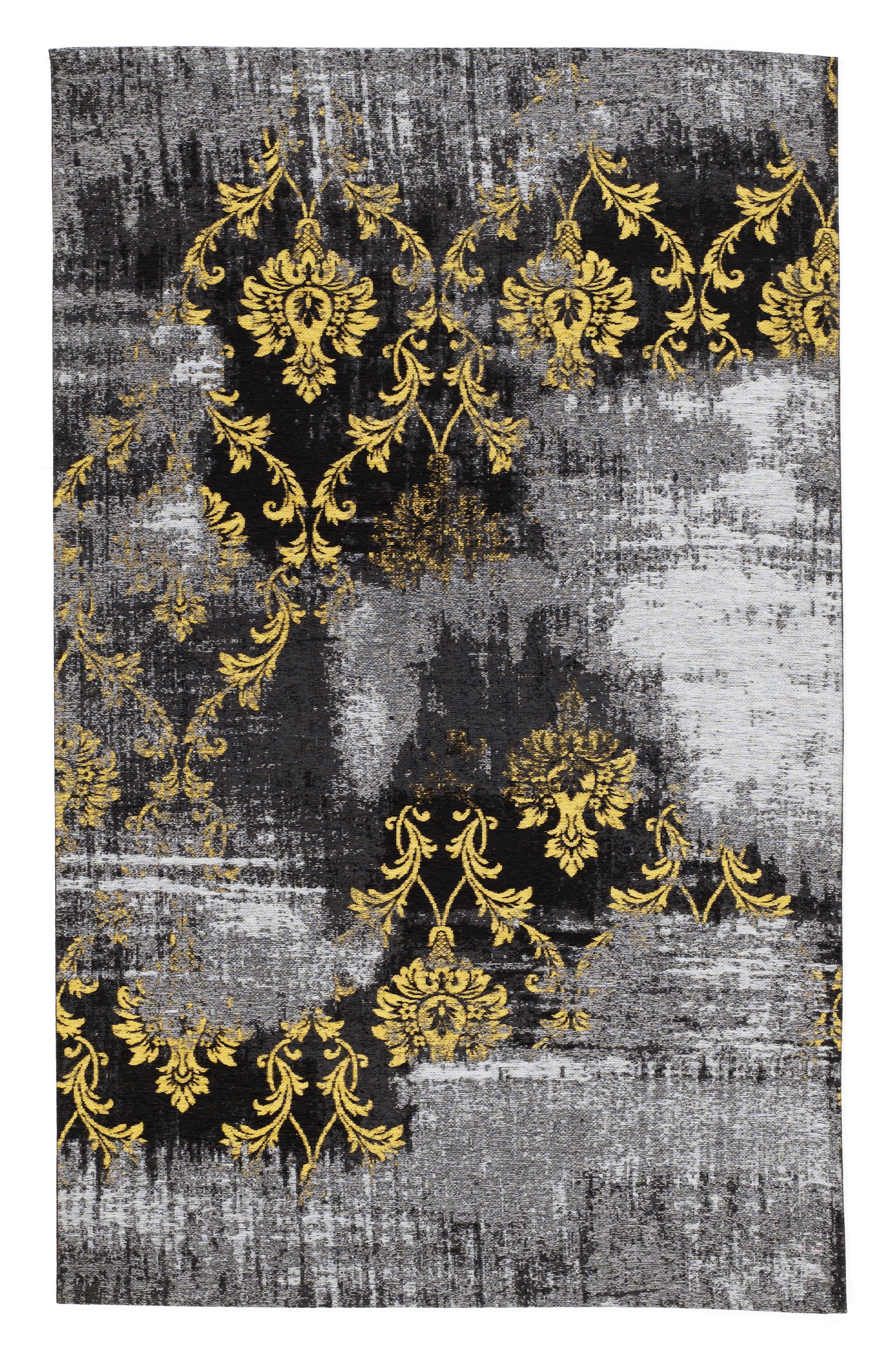 Teppich Gelb Braun